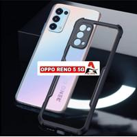 Case OPPO RENO 5 Shockprof Armor Transparan Premium Softcase OPPO RENO