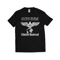 MARDUK - WORLD FUNERAL   KAOS BAND   BLACK METAL   T-SHIRT   GILDAN