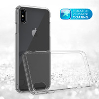 Case iPhone X | Xs | Xr | Xs Max Fuze Crystal Clear Anti Crack Casing