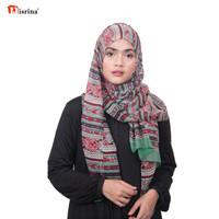 Nisrina Fashion Muslim Pashmina Motif Gita Damira