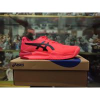 Sepatu Tennis Tenis Asics Gel Resolution 8 Tokyo Sunrise Red Original