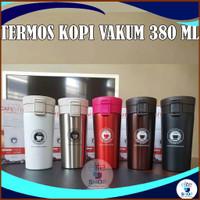 TERMOS KOPI / COFEE CUP GELAS TRAVELING STAINLESS 380 ML