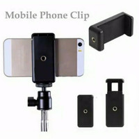 Clamp Phone Holder U for Tripod Tongsis Monopod Clip Bracket Mount Hp