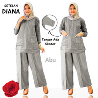 Baju Setelan wanita, Baju+ Celana kulot, Baju Muslim