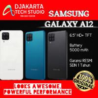 Samsung Galaxy A12 4/128GB 6/128GB Black Blue White RESMI ORI BNIB