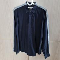 Kemeja Pria Armani Exchange Slim Fit Size M Lengan Panjang Original