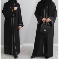 Gamis Dress Abaya Arab Saudi Polis List Pita