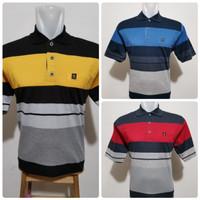 Wangki Salur Size XL/Kaos Polo Salur Pria/ Polo Kaos