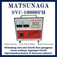 Stavolt Matsunaga JAPAN SVC-10000 - Stabilizer Listrik 10000watt