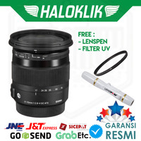 Sigma 17-70mm f/2.8-4 DC Macro OS HSM with Filter UV + Lenspen