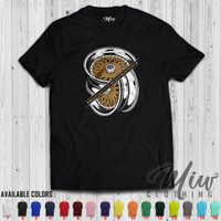 Kaos Distro / Baju Distro/ Tshirt BBS RM Gold