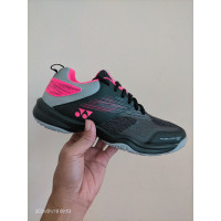 Sepatu Badminton Tenis Tennis Yonex PC 37 Power Cushion 37 Black Pink