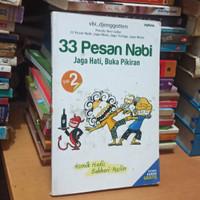ori bekas 33 pesan Nabi jaga hati buku buka pikiran volume 2 komik ha