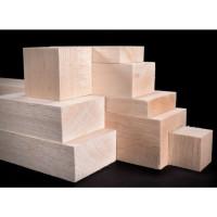 Kayu balsa Balok 4cm 40mm x 50mm x 50cm balsa blok wooden DIY craft