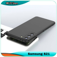 Casing Samsung Galaxy S21 S 21 Slim Fit Silicone Matte Soft Case