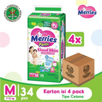 Merries Pants Good Skin M 34S Karton Isi 4