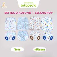Blessing Babywear-set baju bayi newborn-kutung/pop-usia 0-3 bulan-Boys