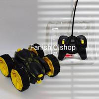 Mainan anak laki-laki Mobil remot STUNT CAR PREDATOR bisa di cas