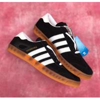 Sepatu Casual Adidas Hamburg -Black White