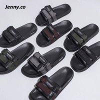 Ribsgold Slippers Flip Strap / Sandal Slide Double Slip On Pria Wanita