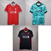 Jersey Kaos Baju Sepak Bola Liverpool Home Away 3rd Third 2020 2021 GO