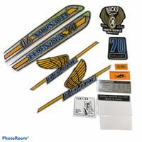 striping honda c70 SEMUA TAHUN - Kuning Strip 1