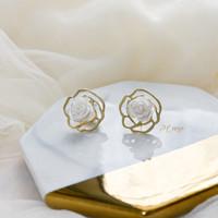 Delarosa Earrings | Anting korea mawar cantik aksesoris wanita AT 030