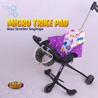 Alas stroller segitiga Micro Trike Pad Alas Sepeda Bayi Roda Tiga