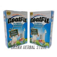 Goatfit Milk Susu Kambing Ettawa Plus Royal Jelly / Original Asli 100%