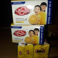 Sabun per pack lifebuoy batang 60 gr (isi 4 batang sabun)