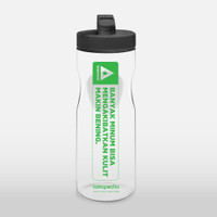 Tokopedia x Lock & Lock - Botol Minum Hitam
