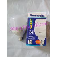 Lampu LED Hannochs Vario 24 w Watt Putih Cool Daylight Bulb 24W 24Watt