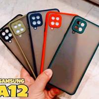 Case Samsung Galaxy A12 Case Dove Transparan Premium Case