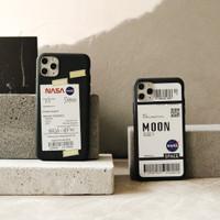 NASA CASE - softcase doff iPhone 6 7 8 plus X Xr XsMax 11 12 PRO MAX