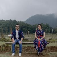 COUPLE BAJU TENUN / Assojar fashion / setelan dress tenun