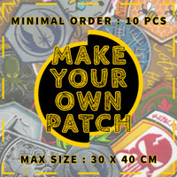 Custom Emblem, Badge, Logo Dan Patch Bordir Terbaik