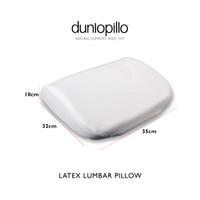 Dunlopillo Seat Cushion (Bantal Kesehatan Punggung) 38x34x8 cm