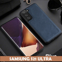 CASE SAMSUNG GALAXY S21 ULTRA / S 21 ULTRA X-LEVEL EARL III LEATHER