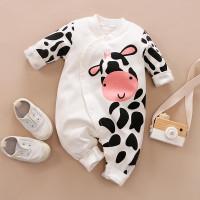 Baju Bayi Import Korea Motif white 100% Katun baju bayi Unisex
