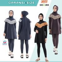 Baju Renang Wanita Muslim Muslimah Dewasa Panjang Hijab edorasport kay