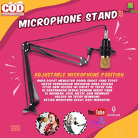 Arm Stand Suspensi Lazypod Mikrofon Mic Stand Youtuber Smule Podcast