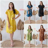 Daster Payung Bali Motif #3 - Daster Wanita - Baju Tidur - Baju Santai