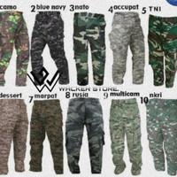 celana loreng panjang | celana PDL lorenga army [Original]