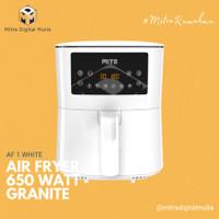 Mito AF 1 Digital Air Fryer 4 Liter Low Watt Putih AF1