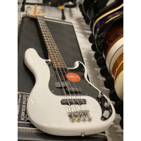 Squier Affinity Precision Bass PJ - Olympic White with Laurel FB