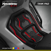 Hayaidesu FORZA Body Protector Tank Pad - Merah