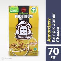 Jamor chipsy - Keripik Jamur Cheese - Camilan Sehat