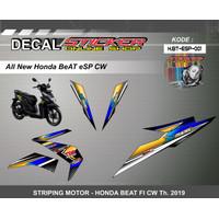 STIKER MOTOR HONDA BEAT FI ESP 2019 DECAL STRIPING VARIASI RACING A