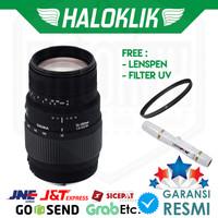 Sigma 70-300mm F/4-5.6 DG Macro with Filter UV + Lenspen