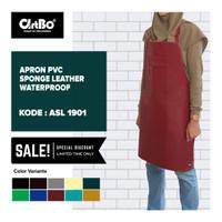 Apron / Celemek PVC Sponge Synthetic Leather Waterproof